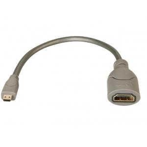 Üleminek Micro HDMI (M) - HDMI (F) 0.15m