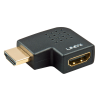 Adapter HDMI (M) - (F), nurgaga vasakule