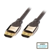 HDMI kaabel 1.0m, CROMO High Speed, 2160p, 3D, Friction Locking