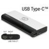 Akupank 1x USB-A 5 V / 2.4 A, 1xUSB-C 5 V / 3 A, 10200mAh, (laeb 2 nutiseadet korraga)