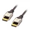 DisplayPort kaabel 0.5m CROMO, toetab 2560 x 1600