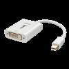 Üleminek Mini DisplayPort (M) - DVI-D (F), 1080p/ 1920x1200, Eyefinity tugi 0.17m