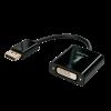 Konverter DisplayPort (M) - DVI-D (F), Active 0.15m