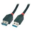 USB 3.0 pikenduskaabel A - A 3.0m, must