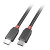 USB-C kaabel, 3.0m, must, Premium