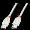USB 2.0 kaabel A - A 1.0m, hall