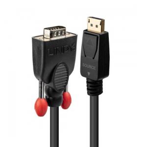 DisplayPort - VGA Kaabel 1m
