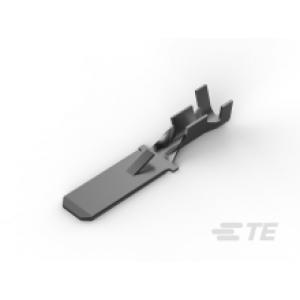 Faston pistik, 6.3mm x 0.8mm, 0.8÷2mm2,isane, isoleerimata