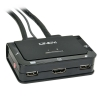 KVM switch: 2 porti, HDMI, USB, audio