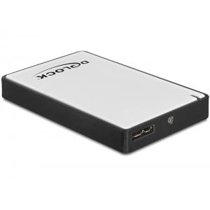 Kõvakettakarp 1.8´´ Micro SATA / SSD kettale, USB 3.0 Type-B ühendus