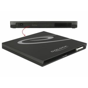 Karp 9.5mm SATA seadmele, USB-C ühendus