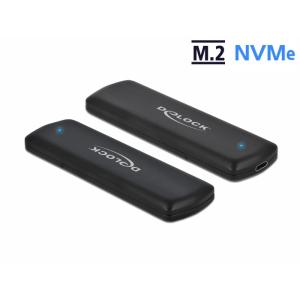 Kõvakettakarp M.2 NVMe PCIe SSD kettale - USB-C sisend, tööriistavaba