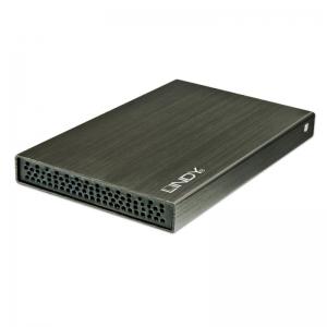 Kõvakettakarp 2.5´´ SATA kettale, USB 2.0 liides, must