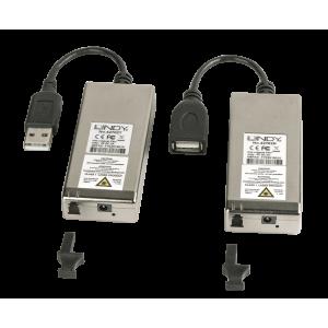 USB 2.0 pikendaja, multimode LC Simplex kuni 200m