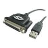 Printeri kaabel konverter USB 2.0 - Parallel DB25F 1.5m