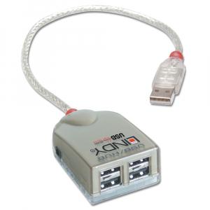 USB 2.0 Hub, 4 x USB Type A Ports