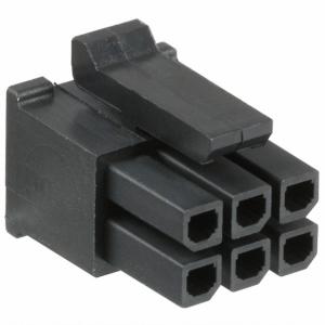 Micro-Fit 3.0 6ne pesa paneelile 2rida