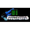 HDMI kaabli valmistamise komplekt: tööriist, tester, 10xhdmi pistikut