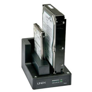 Docking ja Cloning station 2.5´´- 3.5´´ SATA ketastele (USB 3.0 liides)