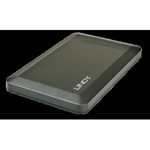 """Kõvakettakarp 2,5"""" kettale USB 3.0 & eSata, must"""