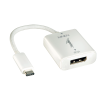 Konverter USB 3.1 C (M) - Displayport (F) 2160p 0.15m