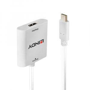 Konverter USB-C (M) - HDMI (F), 4K@60Hz 0.15m, valge
