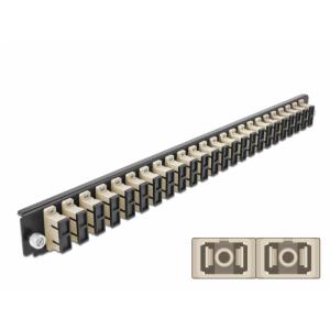 FO eemaldatav esipaneel 24xSC Duplex 19´´ multimode adapteritega OM2