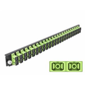 FO eemaldatav esipaneel 24xSC Duplex 19´´ multimode adapteritega OM5