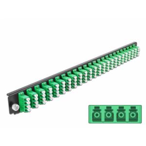 FO eemaldatav esipaneel 24xLC Quad 19´´ singlemode adapteritega OS2