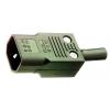 Toitepistik kaablile, C14 UL  10A, 250V P686