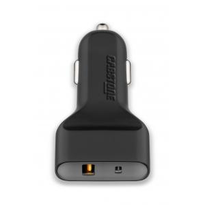 2x USB Autolaadija (USB A QC3.0/ USB C) 12V/24V (6000mA) Qualcomm kiirlaadimine 3.0