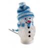 USB Lumememm sinise mütsiga, värvilise...