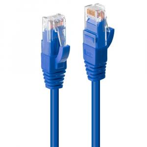 Võrgukaabel Cat6 UTP 0.5m, sinine, LSZH, CU