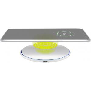 Wireless telefoni kiirlaadija, 5V 10W, valge