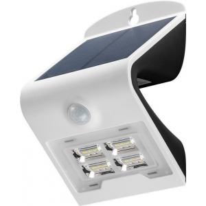 LED valgusti, liikumisandur, päikesepaneel, 27W, 260lm, IP65, aku kuni 30h, valge