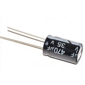 Elektrolüüt kondensaator 470uF 35V 105°C 10x20mm