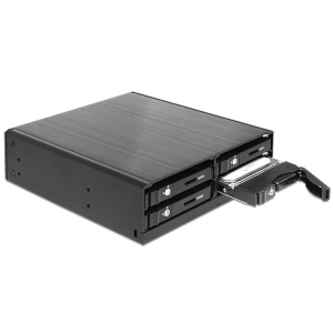 Mobile Rack SATA HDD/SSD paigaldamiseks: 4 x 2.5″, hot swap, 5.25″