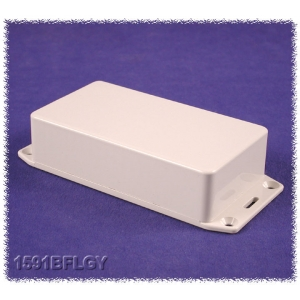 Hammond 1591 ABS Enclosure, IP54, Flanged, 112 x 62 x 27mm