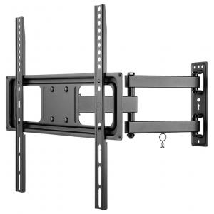 """TV seinakinnitus Basic FULLMOTION (M), väljaulatuv 63-427mm, 23""""-55"""", keeratav ja pööratav, kuni 35kg, must"""