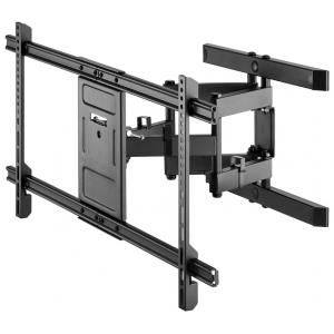 """TV seinakinnitus Pro FULLMOTION (XL), väljaulatuv 77-428mm, 43""""-100"""", keeratav ja pööratav, kuni 60kg, must"""