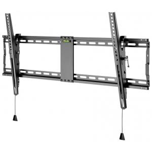 """TV seinakinnitus Pro TILT (XL), kallutatav 3° kuni 12°, 43""""-100"""" kuni 70kg must"""