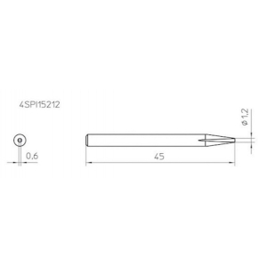 Kolviots VT-SPI15  lapik 1,2mm
