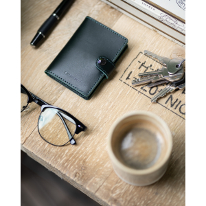 Taskulamp - rahakott Ledlenser Lite Wallet (tumeroheline)