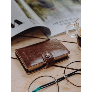 Taskulamp - rahakott Ledlenser Lite Wallet (vintage pruun)