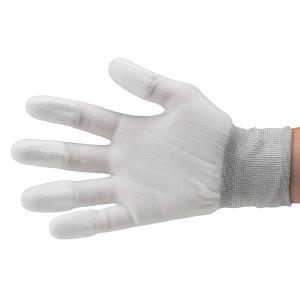 ESD kindad, suurus M, sõrmekaitstega 100% nailon