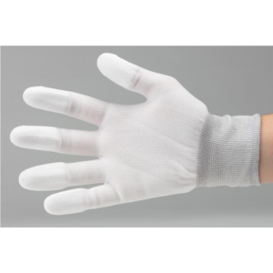 ESD kindad, suurus 2XL, sõrmekaitsmetega 100% nailon