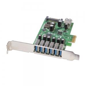 PCI kaart, USB 3.0, 6+1 porti
