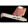 USB 3.0 PCI kaart, 2 porti