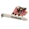USB 3.0 PCIe kaart, 3+1 porti