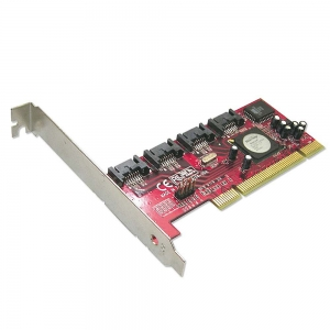 SATA II kontroller, 4 porti, RAID, Low Profile